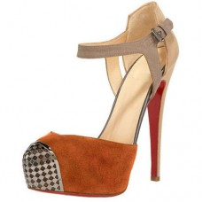 Christian Louboutin Women's Boulima Exclusive D'orsay 120mm Sandals Brown