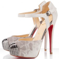 Christian Louboutin Women's Boulima Exclusive D'orsay 120mm Sandals Stone