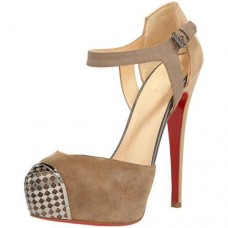 Christian Louboutin Women's Boulima Exclusive D'orsay 120mm Sandals Taupe