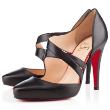 Christian Louboutin Women's Citoyenne 100mm Sandals Black