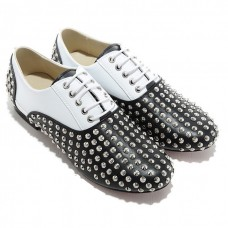 Christian Louboutin Women's Fred Spikes Loafers Black Sale