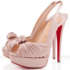 Christian Louboutin Women's Jenny 140mm Special Occasion Nude