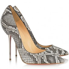 Christian Louboutin Women's Lipsinka 120mm Pumps Snake skin color